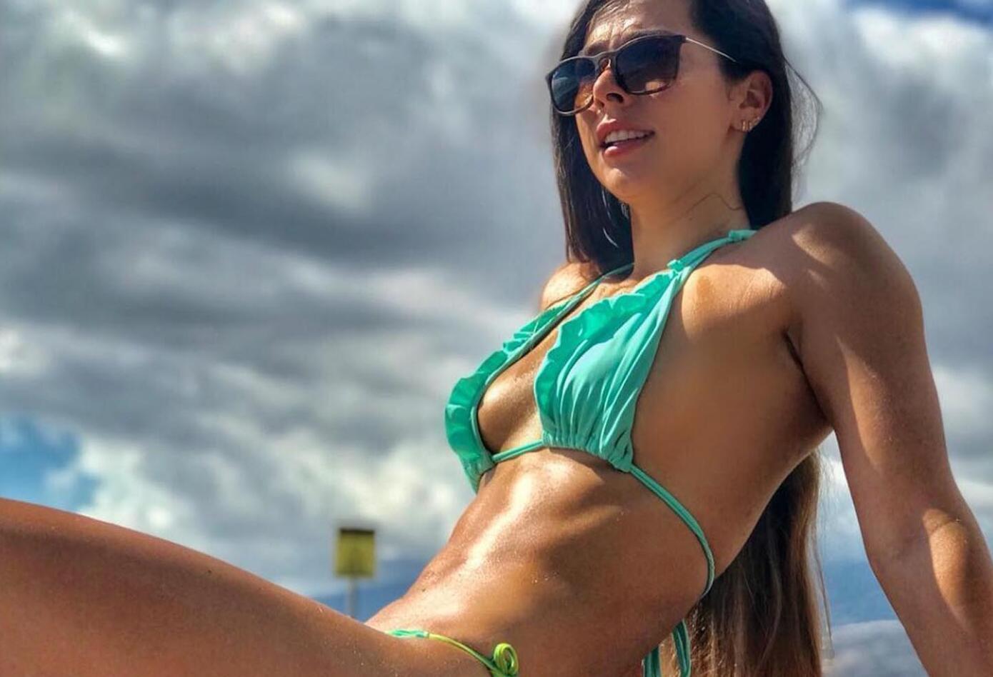 Alejandra Montoya, la contadora sexy del Reto 4 Elementos.