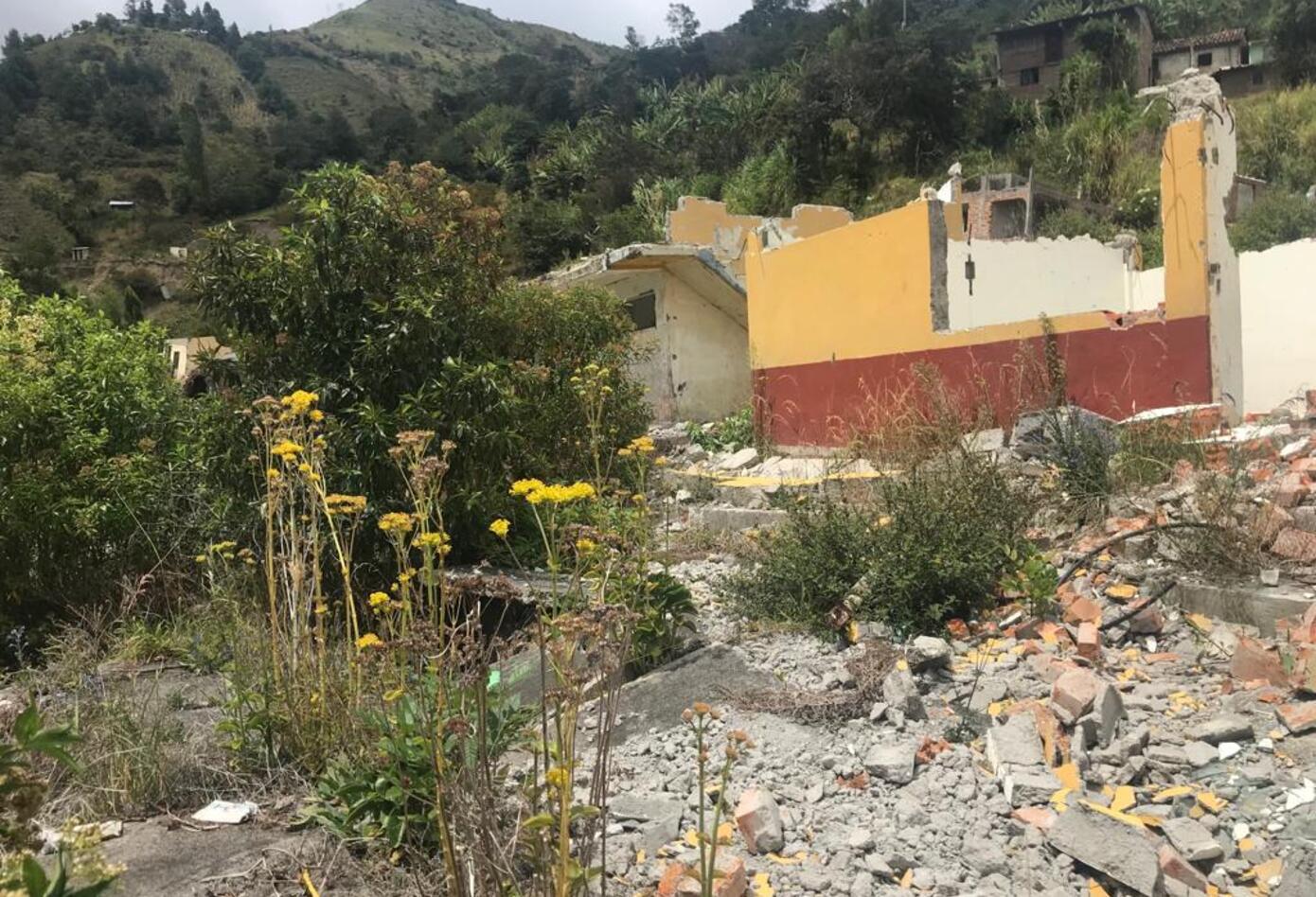 Población de Aponte municipio de Tablón de Gómez Nariño