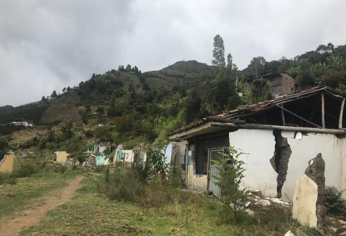 Casco urbano de Aponte Nariño