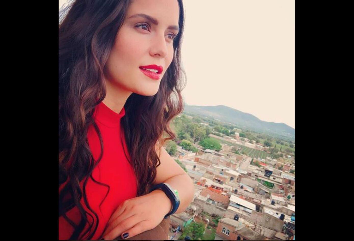 Ana Lucía Domínguez interpretó a Rosa en Nicky Jam: El Ganador