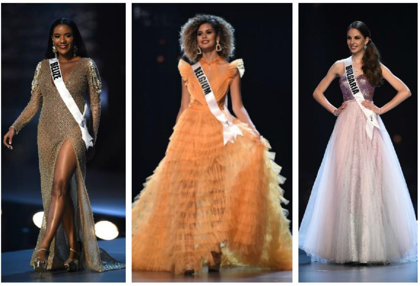 Miss Belice, Miss Bélgica, Miss Bulgaria