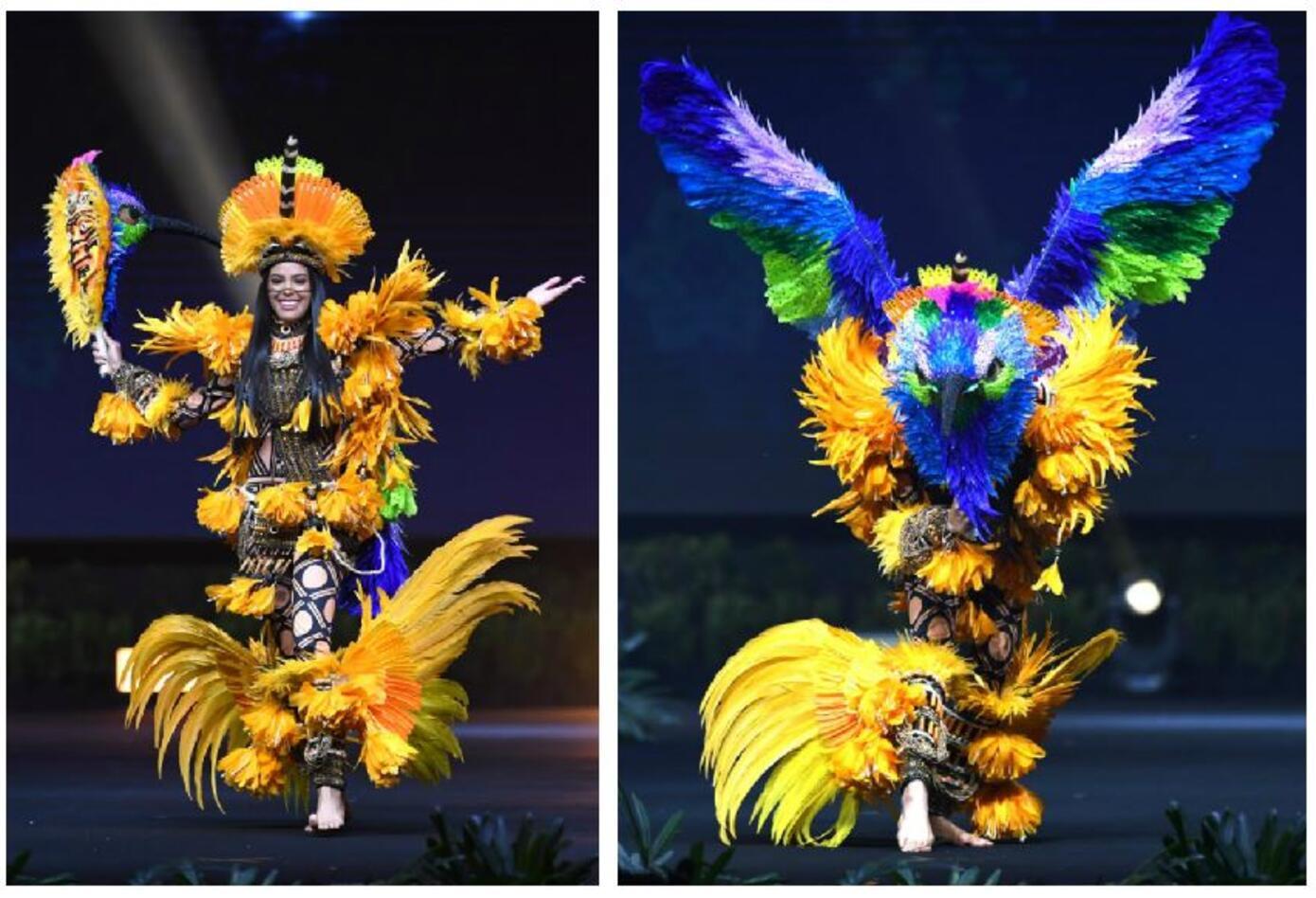 Traje típico de Mayra Dias, Miss Brazil