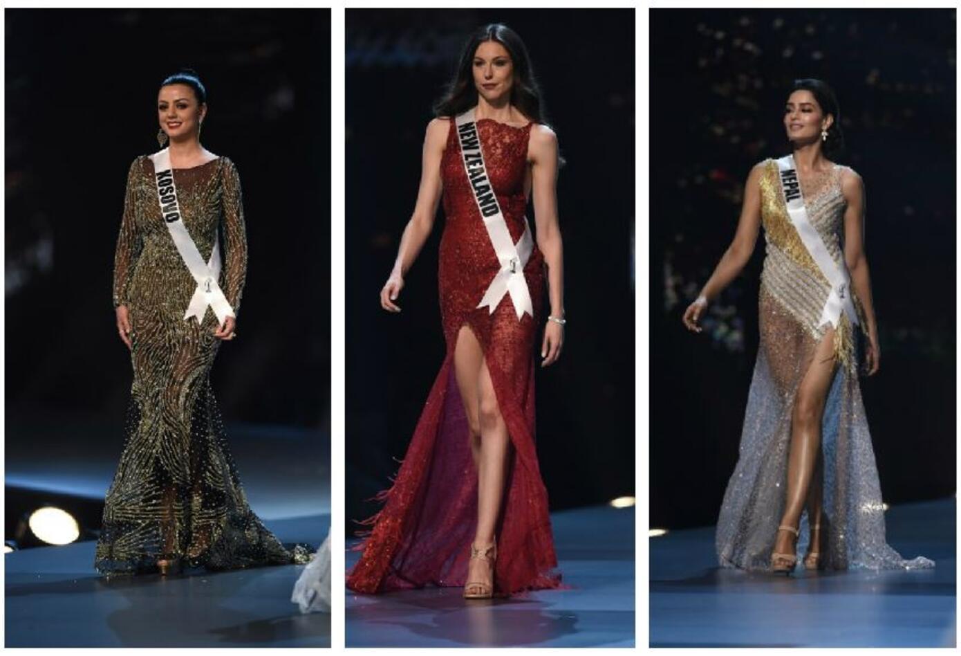 Miss Kosovo, Miss Nueva Zelanda, Miss Nepal