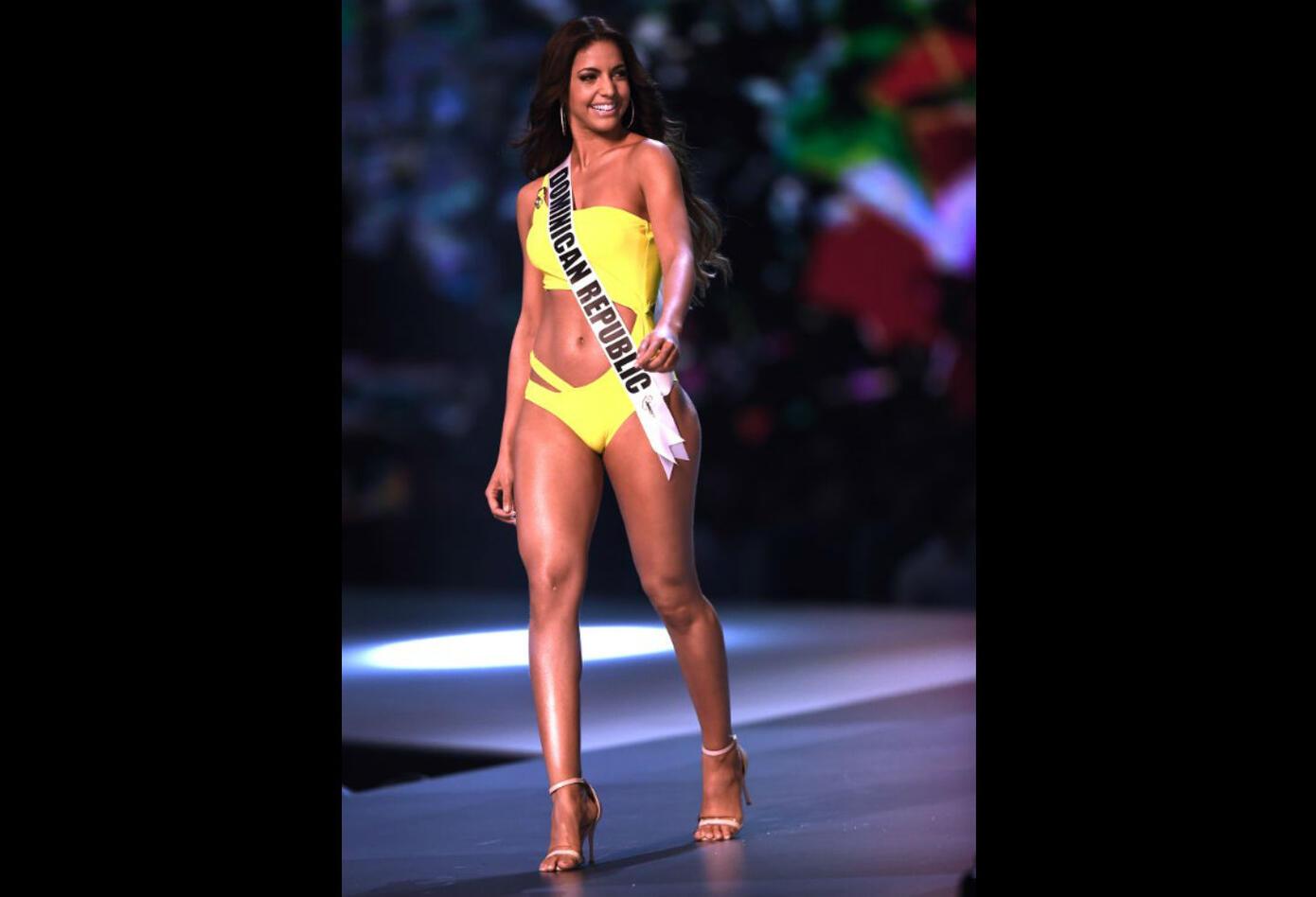 Desfile de traje de baño de Aldy Bernard, Miss República Dominicana
