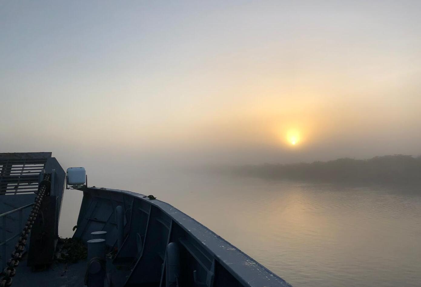 Expedición Fides por el río Magdalena