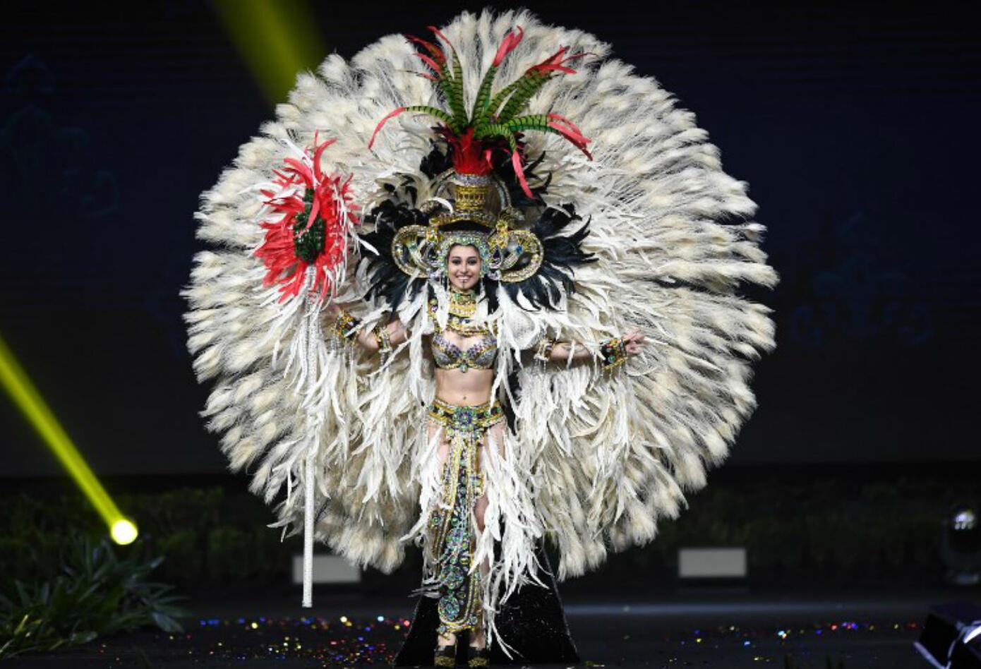 Traje típico de Mariana García, Miss Guatemala