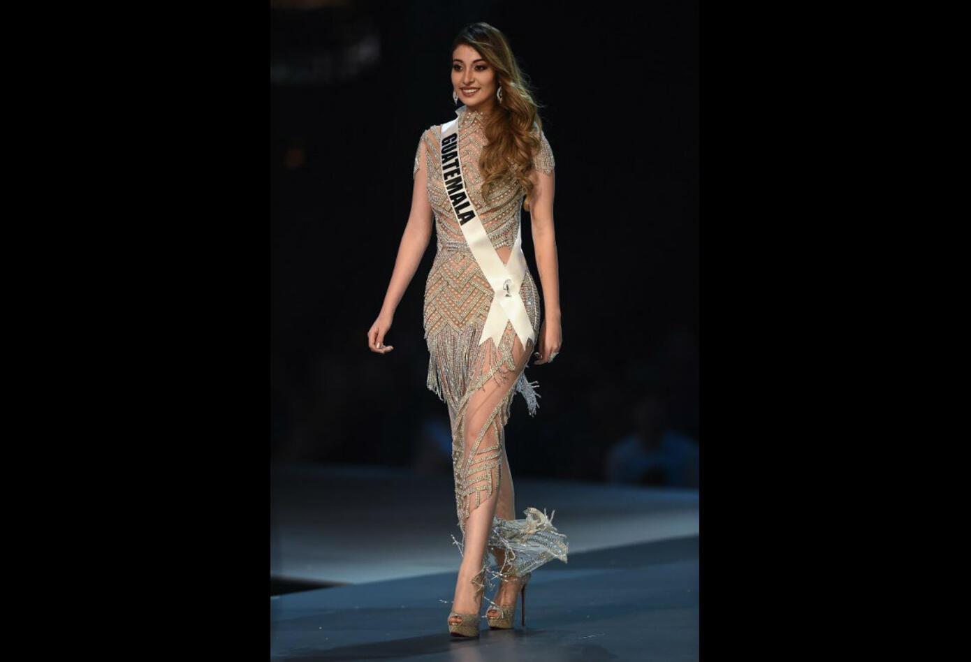 Mariana Garcia, Miss Guatemala en Miss Universo 2018