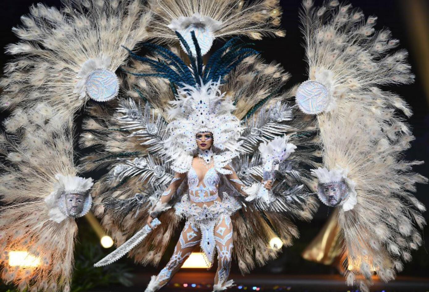 Traje típico de Marisela de Montecristo, Miss El Salvador