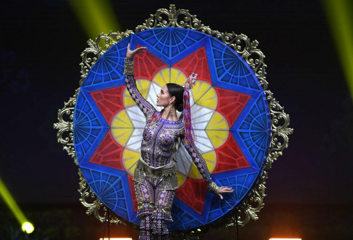 Traje típico de Catriona Gray, Miss Filipinas