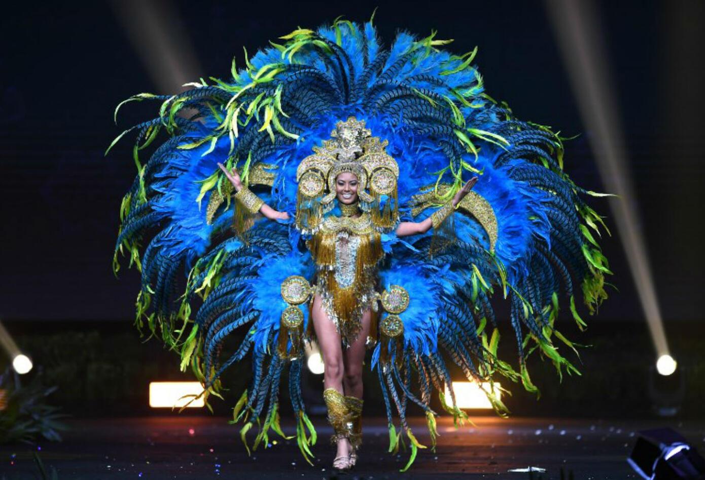 Traje típico de Rosa Montezuma, Miss Panama 2018