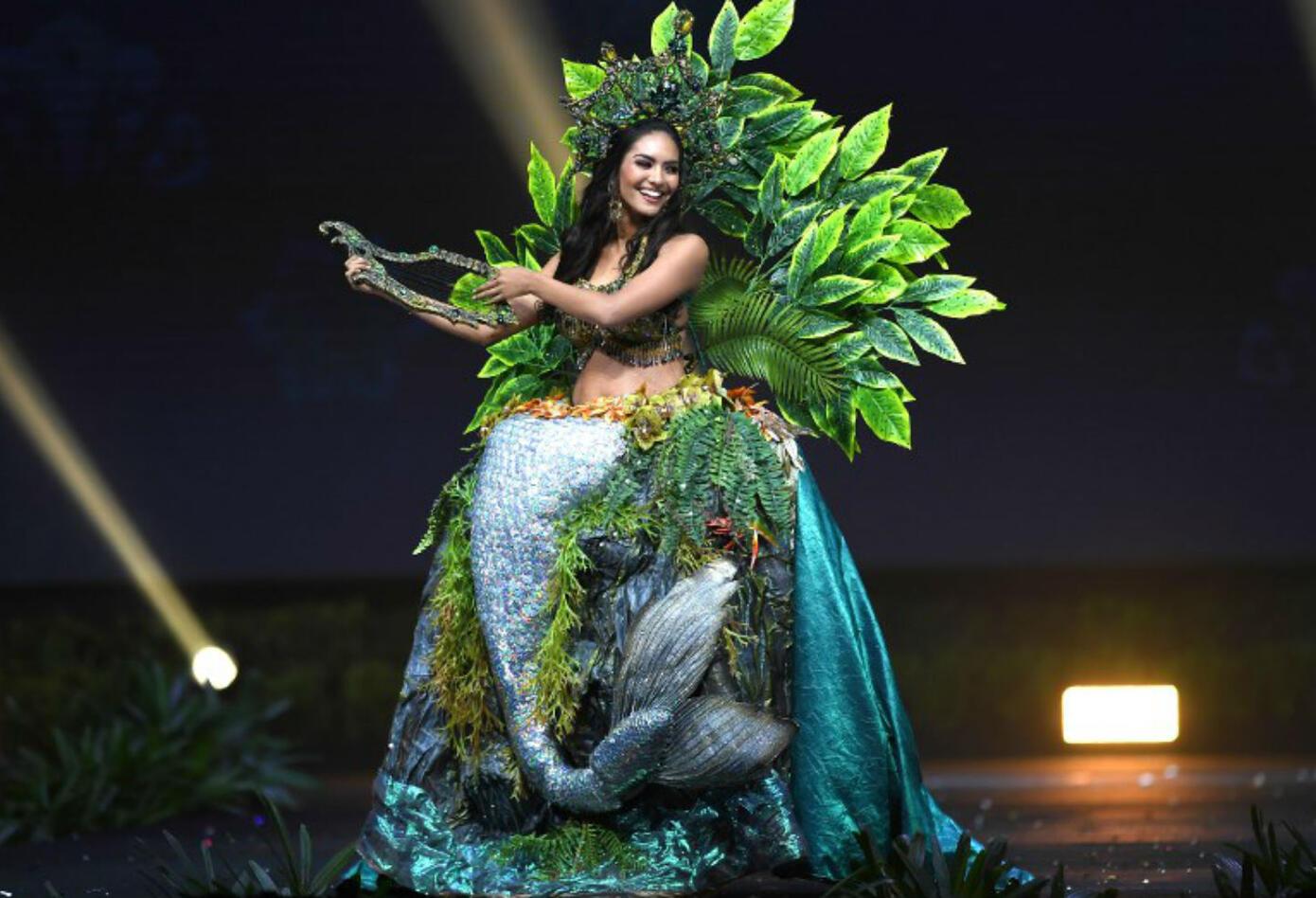 Traje típico de Romina Lozano, Miss Perú