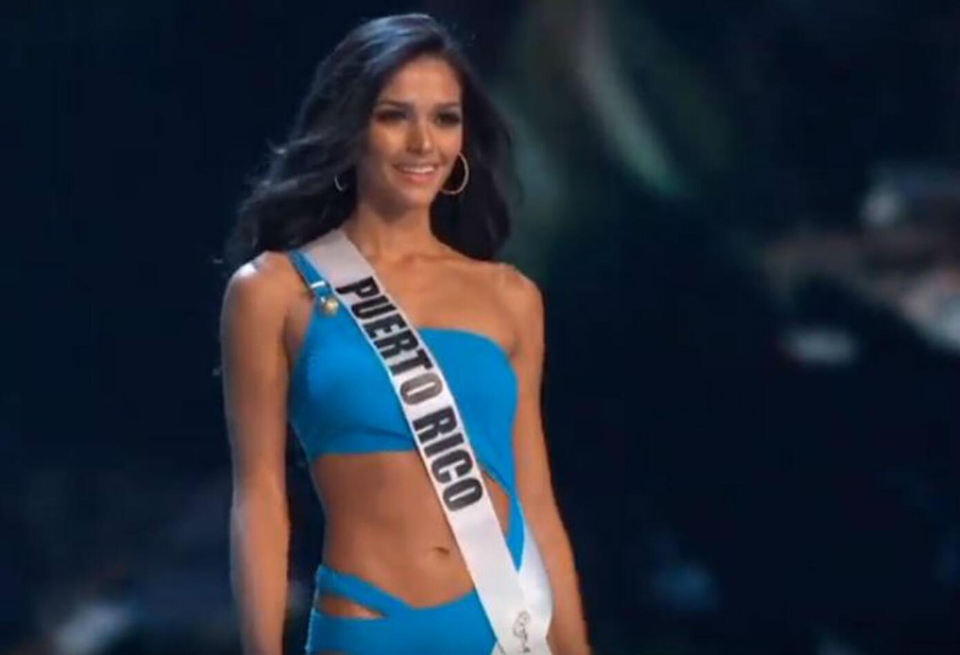 Desfile en traje de baño de Miss Puerto Rico, Kiara Ortega