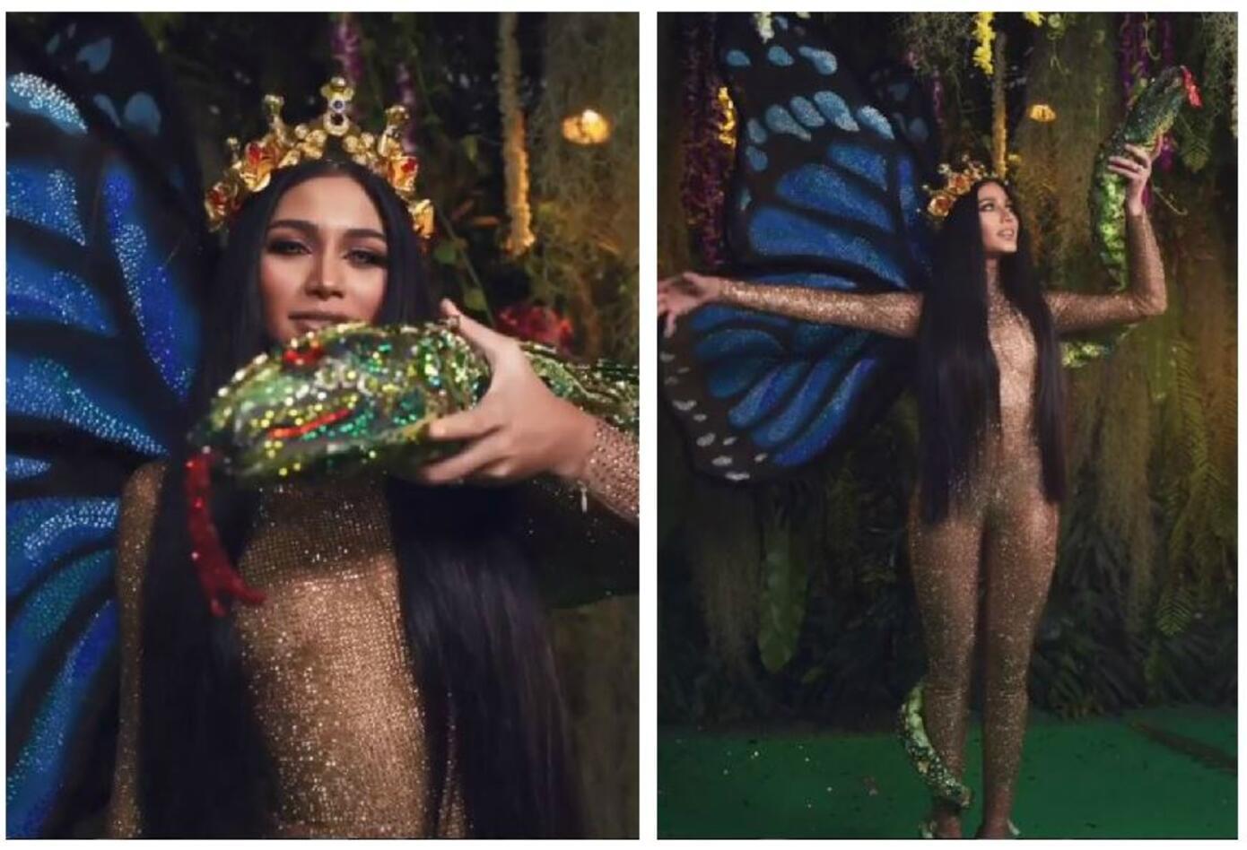 Traje típico de Sthefany Gutiérrez, Miss Venezuela