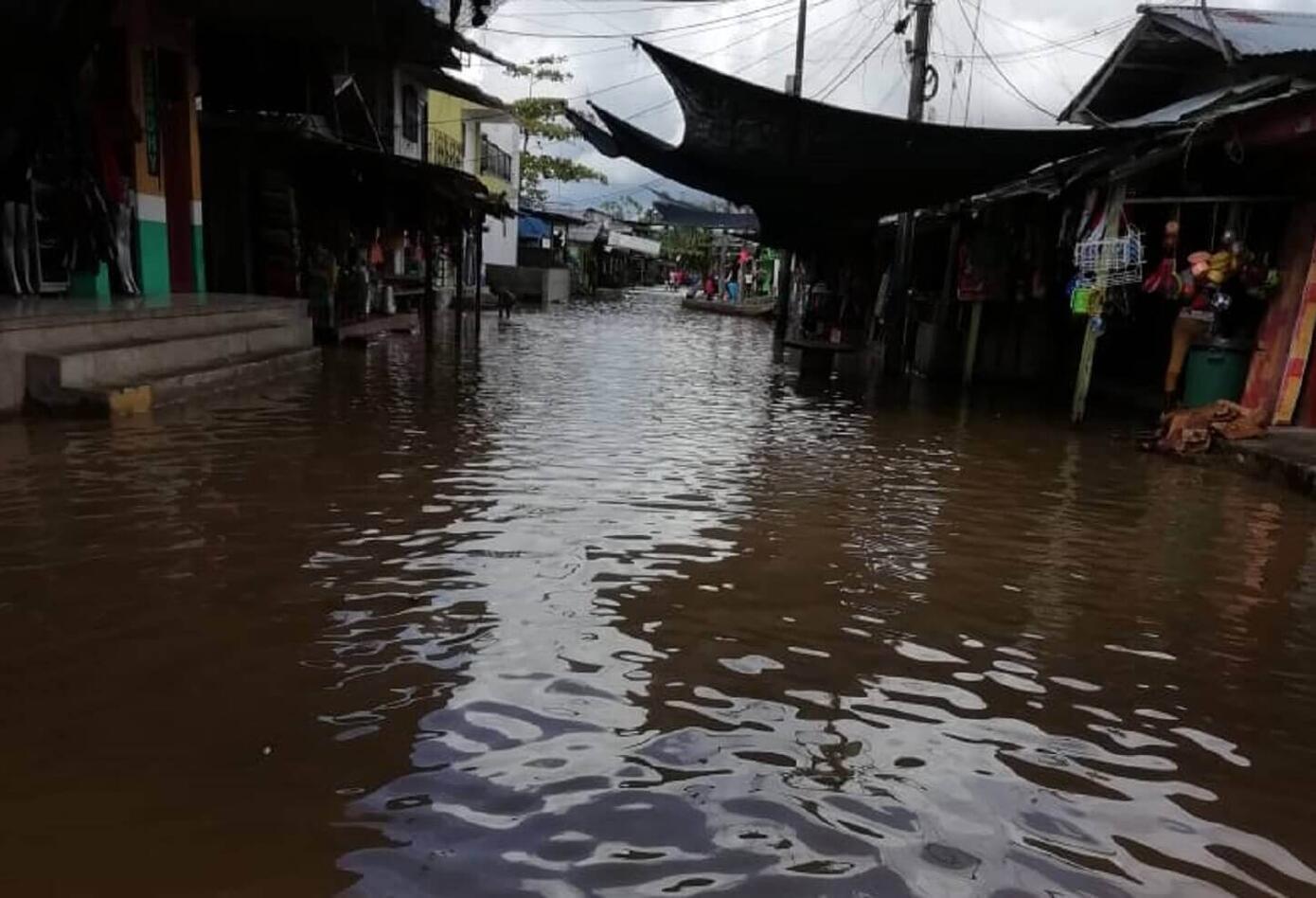 Inundaciones en Vigia del Fuerte