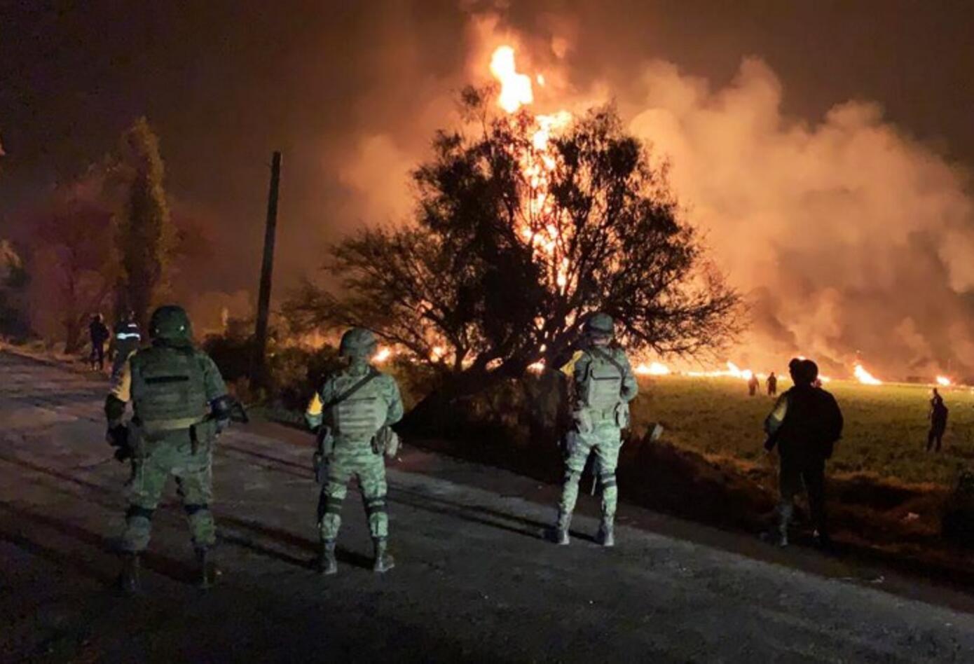 Incendio en México