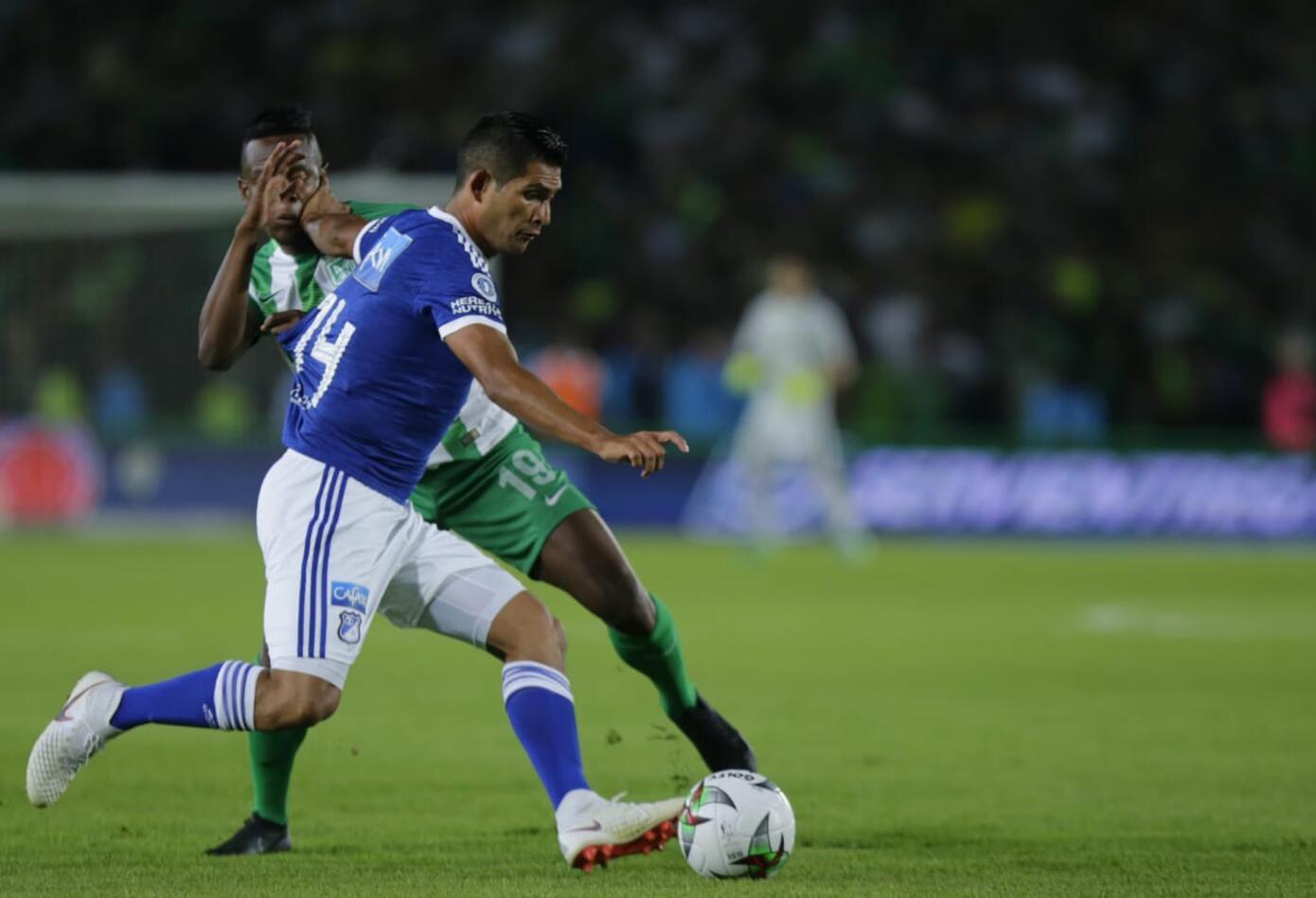 David Macalister Silva jugando ante Nacional