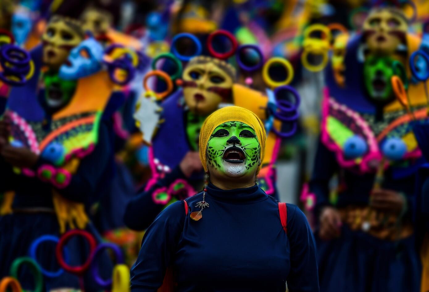 El Carnaval de Negros y Blancos en 2019 conmemora su décimo aniversario como Patrimonio de la Humanidad.