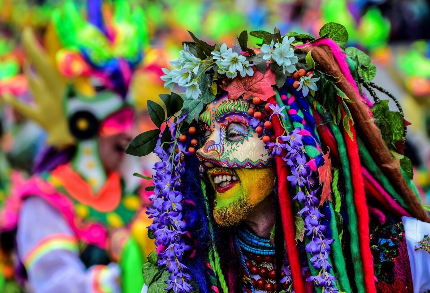 El Carnaval de Blancos y Negros de Pasto se da con la intención de honran a la Pachamama (madre tierra).