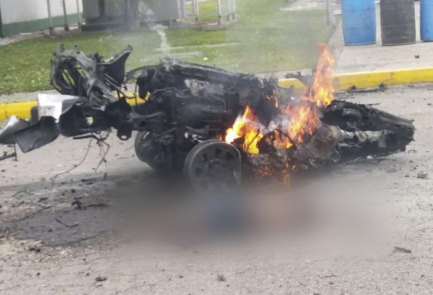 Carro bomba en escuela General Santander