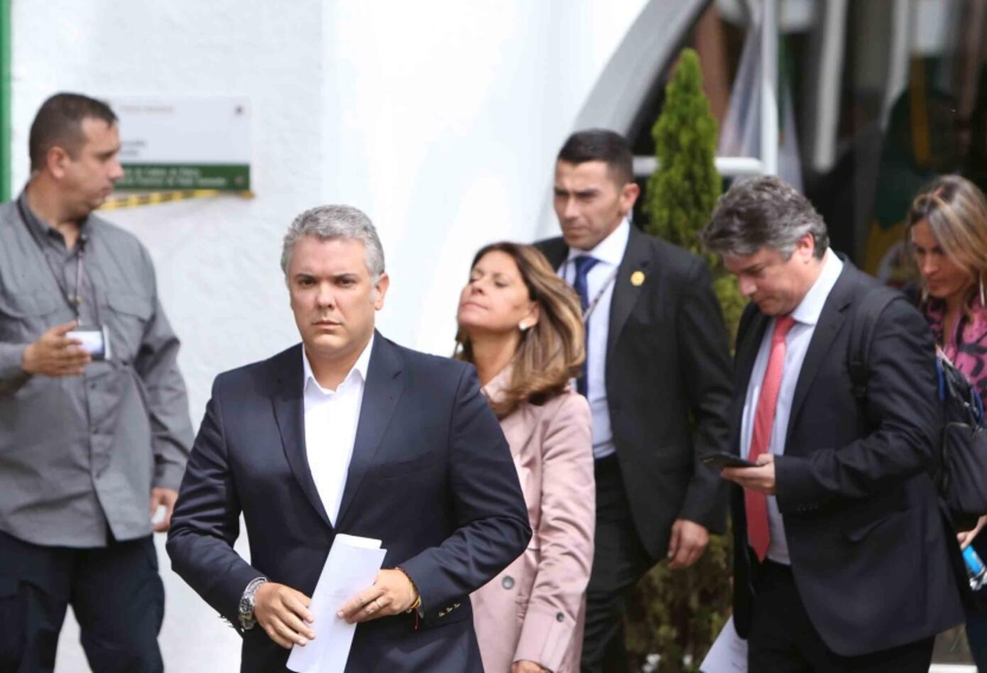 Iván Duque - Carro Bomba en Escuela General Santander