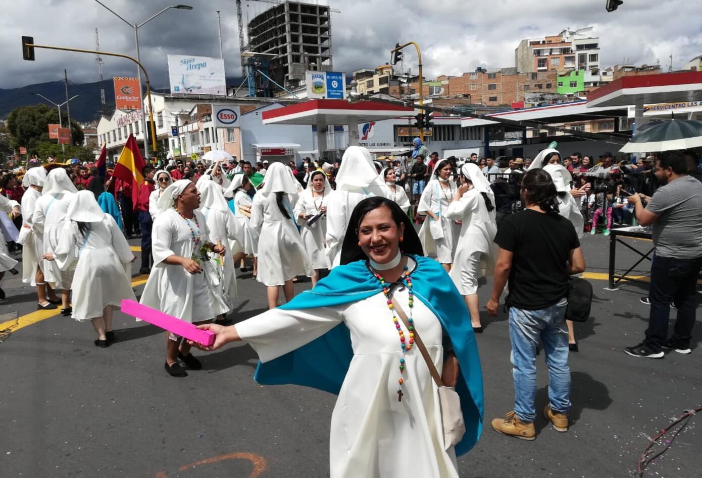 Estampas propias de Pasto Y Nariño se vieron en el desfile del Cuatro de Enero