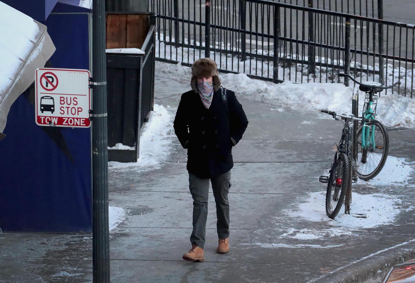 Chicago, en medio de la ola de frío