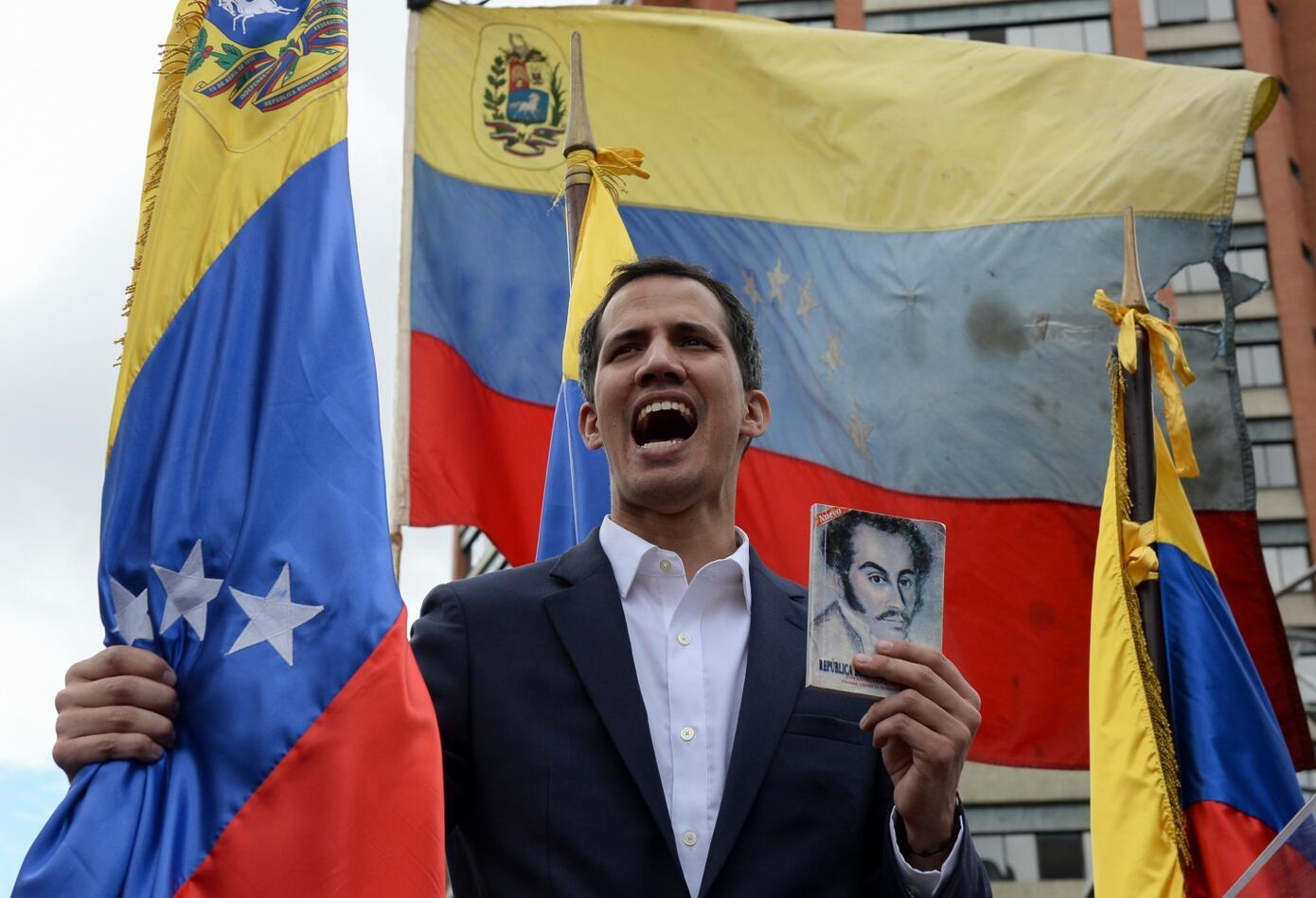Juan Guaidó se proclamó este miércoles presidente interino de Venezuela.