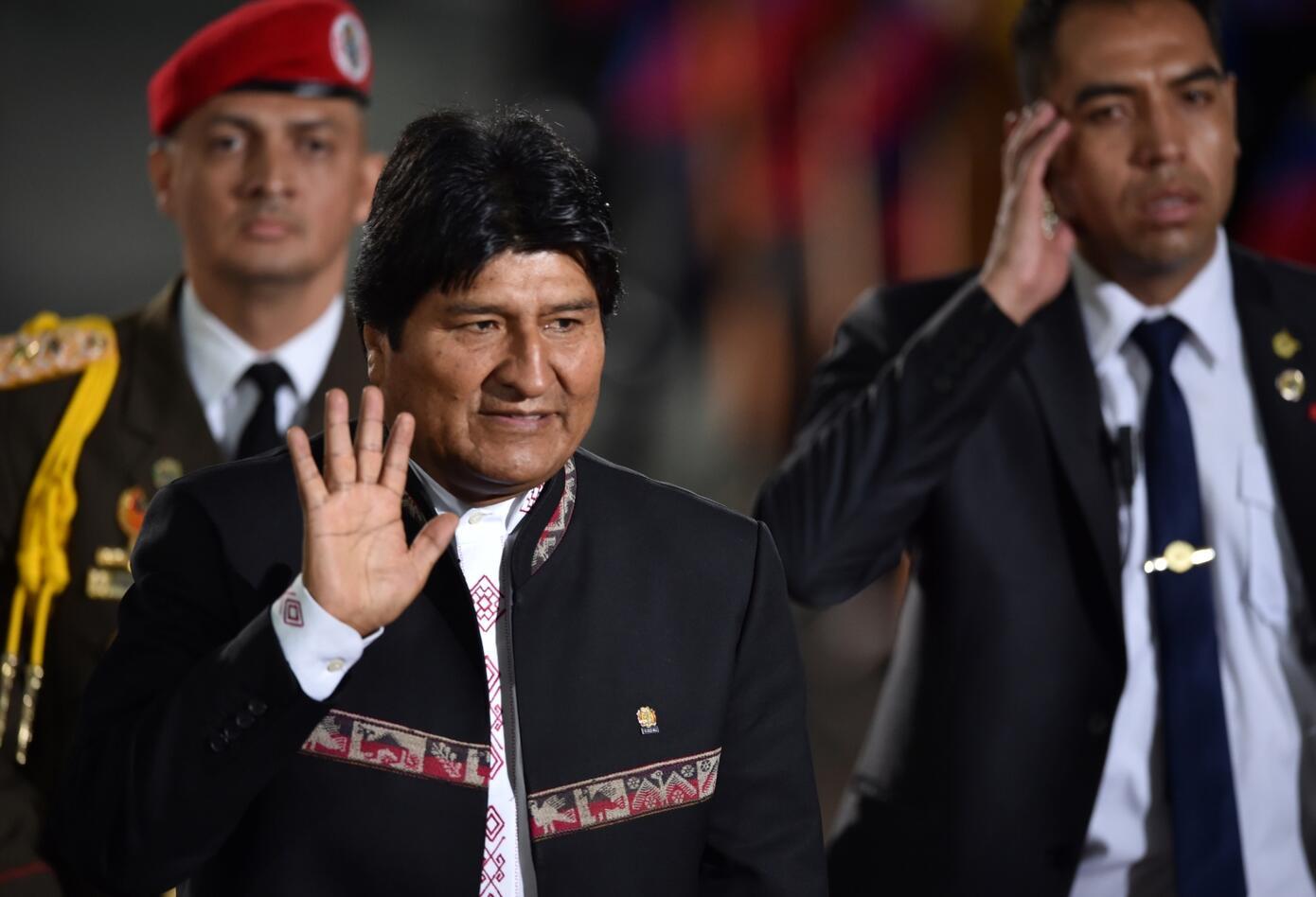 El presidente de Bolivia, Evo Morales, cumple 13 años al frente de su país.