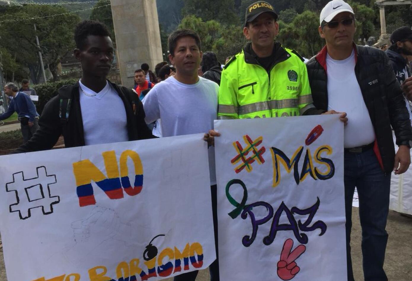 Marcha contra el terrorismo