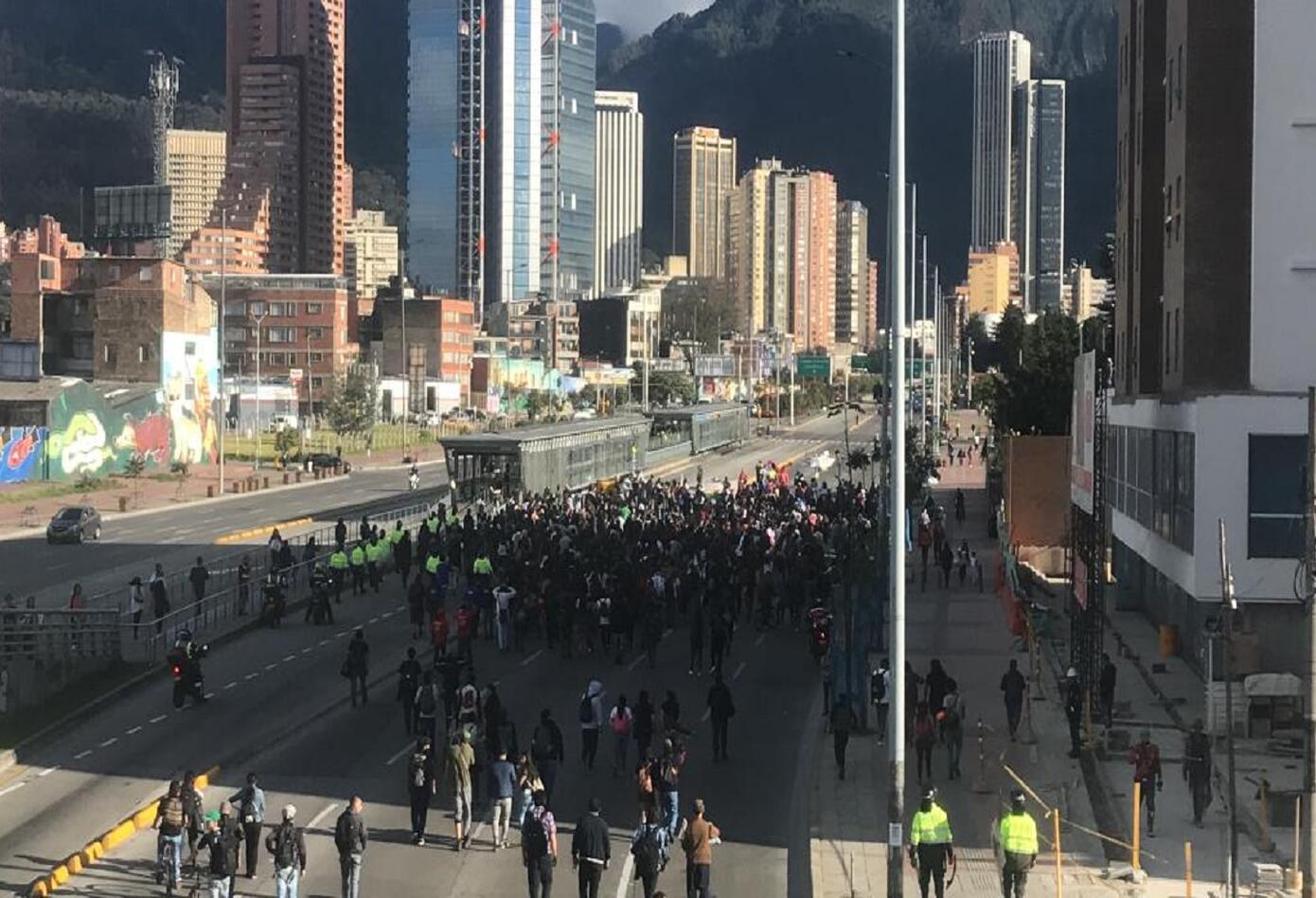 Manifestaciones estudiantiles del 24 de enero 2019