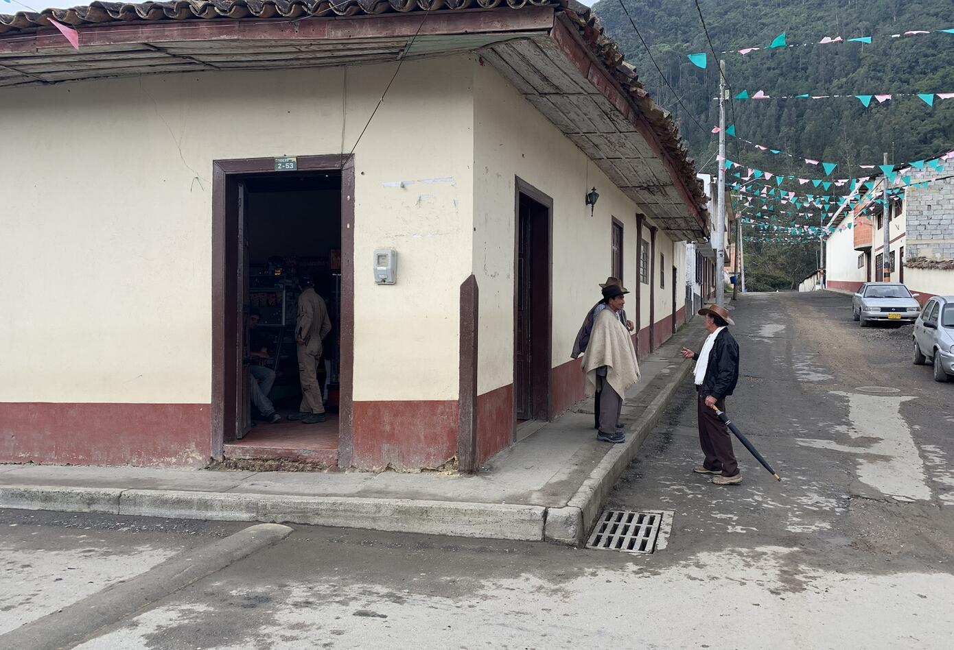 Calles del municipio de Gama