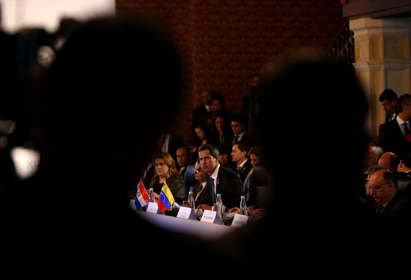 """Juan Guaidó insiste: """"Ser permisivos"""" con Maduro constituiría una amenaza para América."""