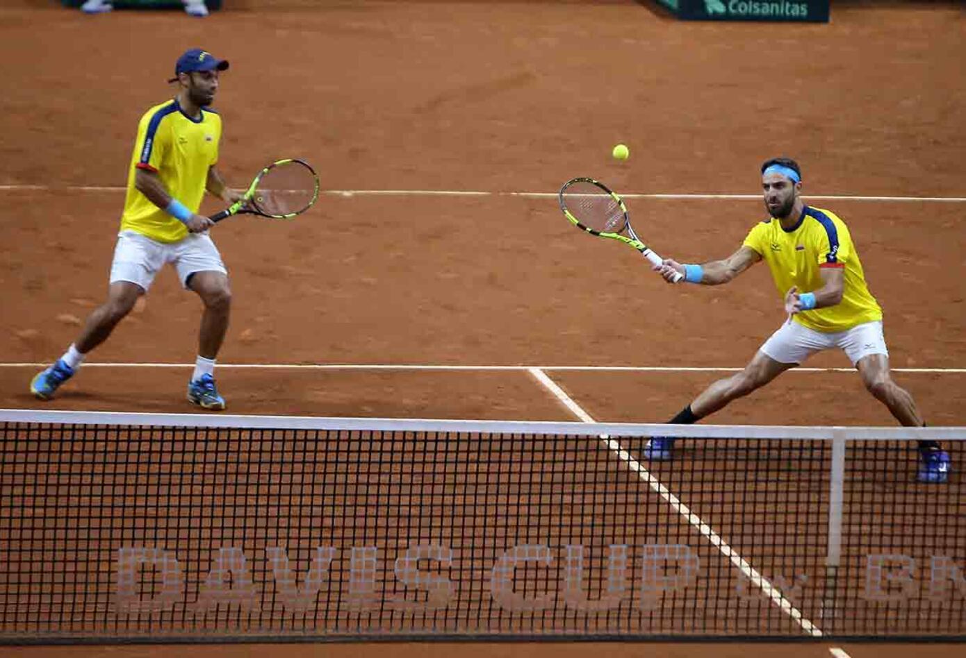 Colombia clasificó por primera vez a la fase final de la Copa Davis