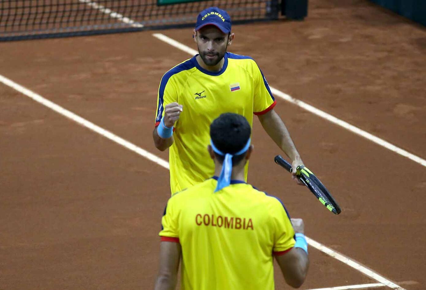 Cabal y Farah se unieron a las victorias de Santiago Giraldo y Daniel Galán