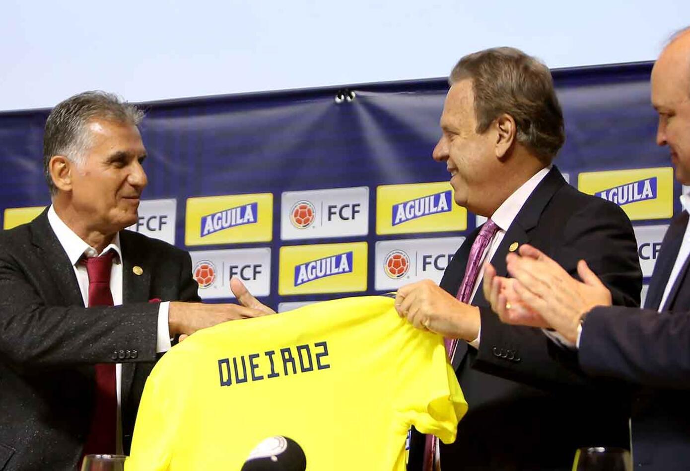 Queiroz ya comenzó a tener contactos con algunos jugadores del combinado colombiano.