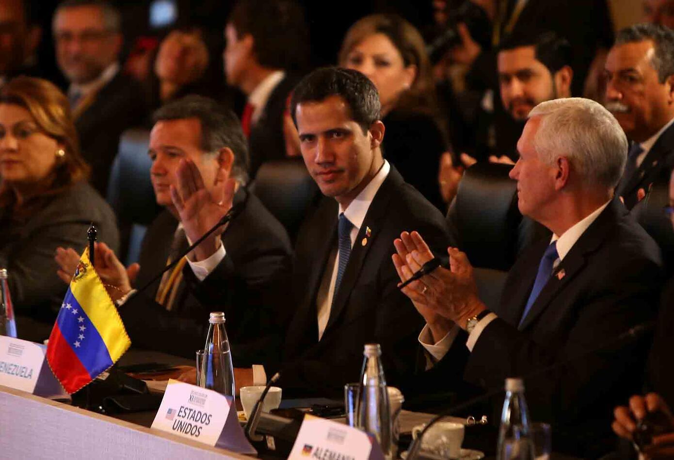 El Grupo de Lima, reunido en Bogotá, analiza salida a la crisis en Venezuela.