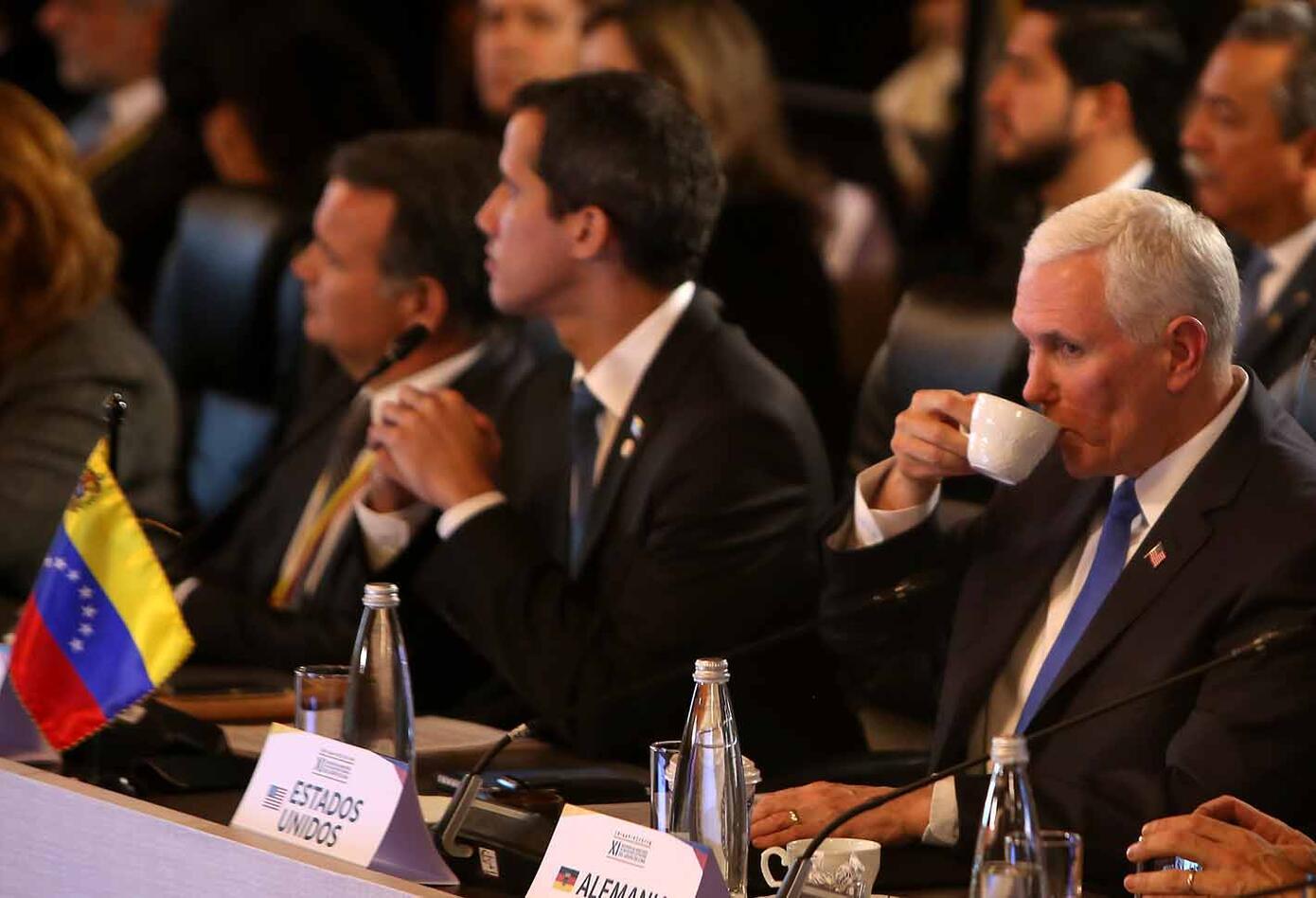 La reunión del Grupo de Lima fue promovida por el gobierno de Iván Duque.