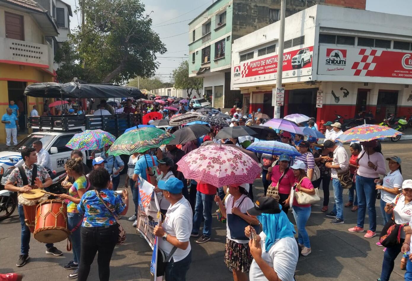 Marcha Docente Barranquilla