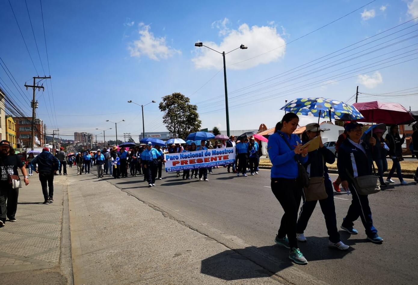 Marcha Docente Cartagena
