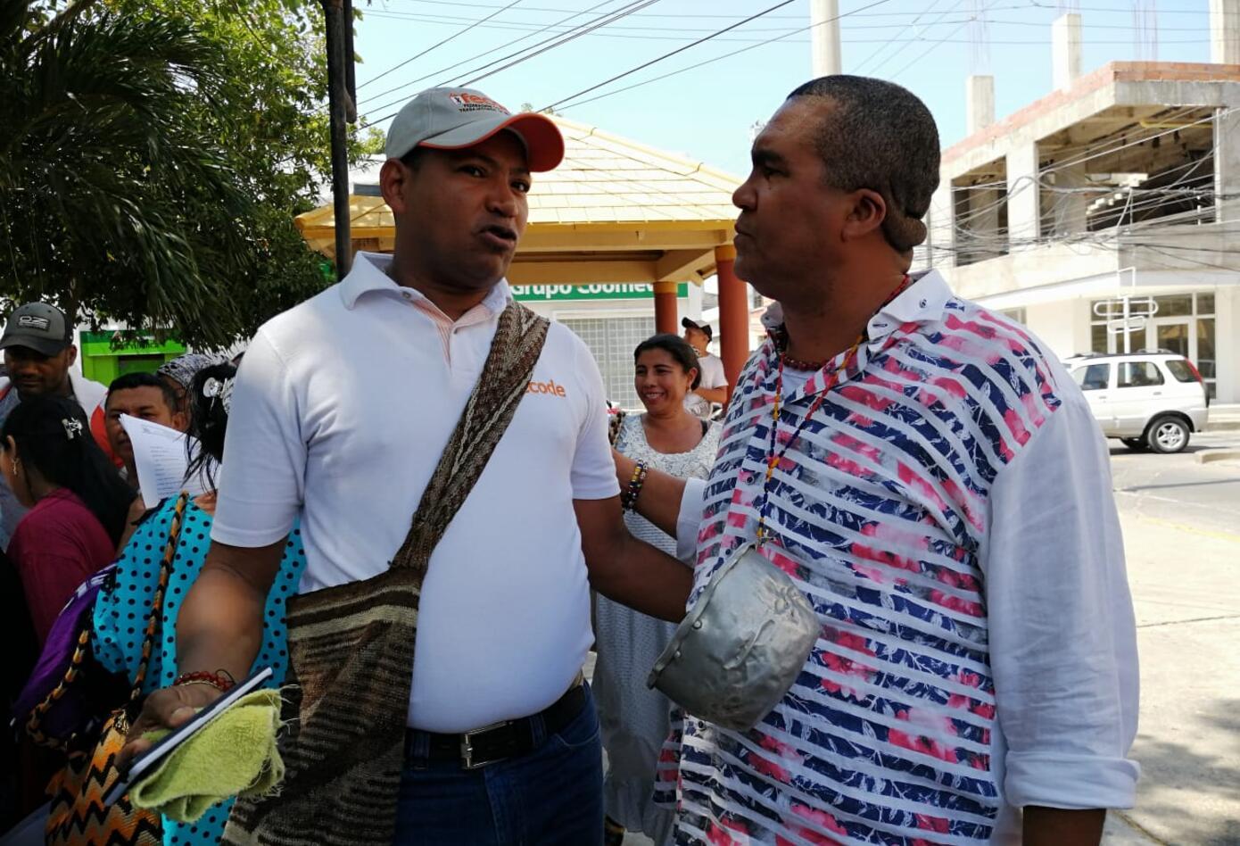 Marcha Docente La Guajira