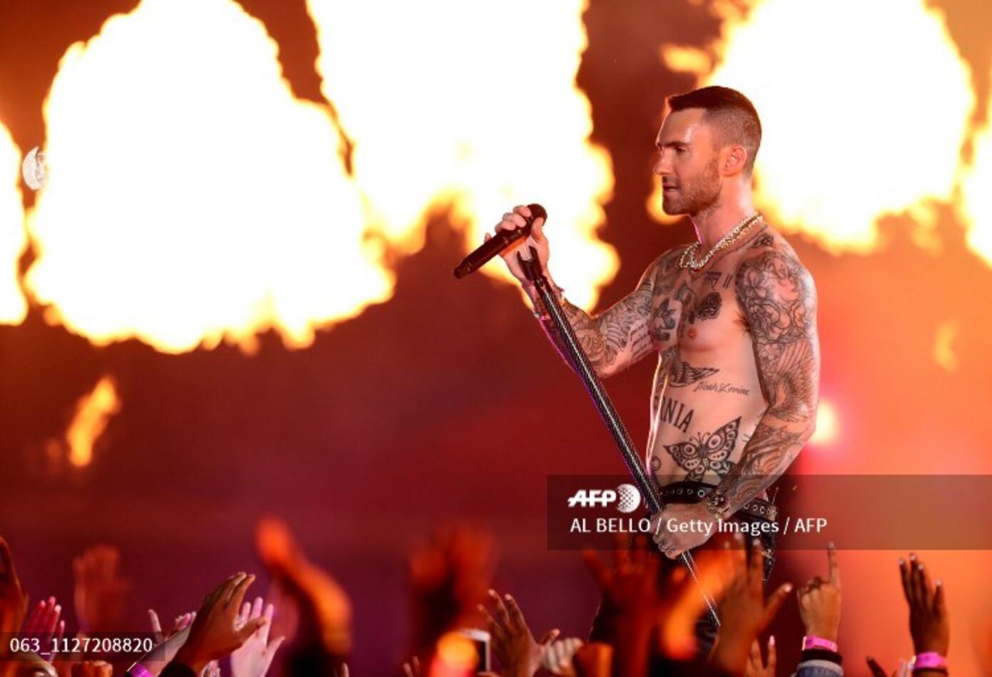 Maroon 5, en el Super Bowl