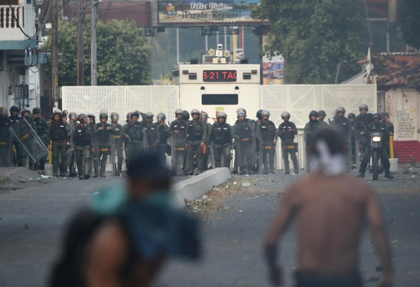 Protestas en Ureña, Venezuela