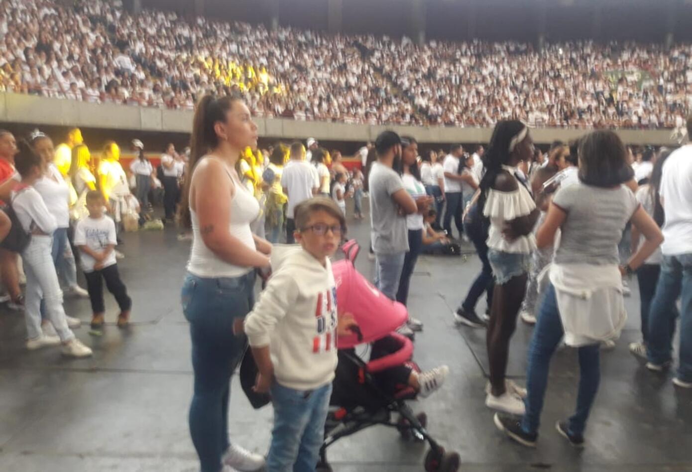 Legarda fue despedido por sus seguidores en Medellín