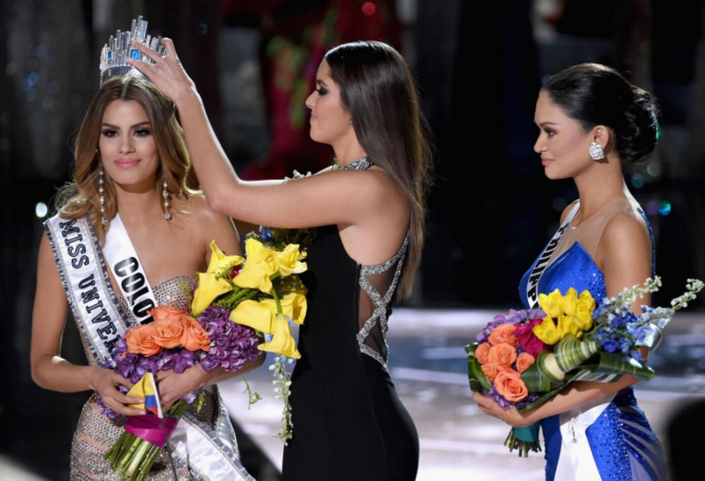 Ariadna Gutiérrez fue coronada por Paulina Vega como Miss Universo