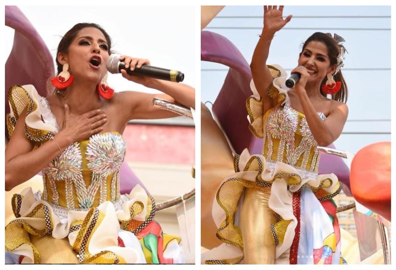 Aida Bossa en el Carnaval de Barranquilla 2019