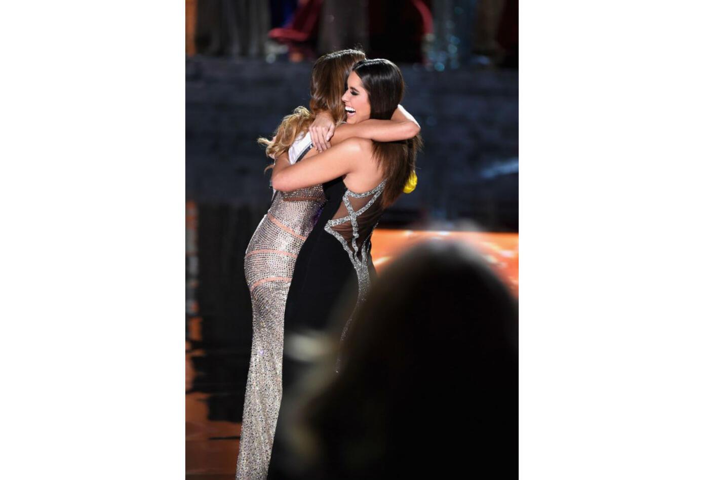 Ariadna Gutiérrez y Paulina Vega en Miss Universo
