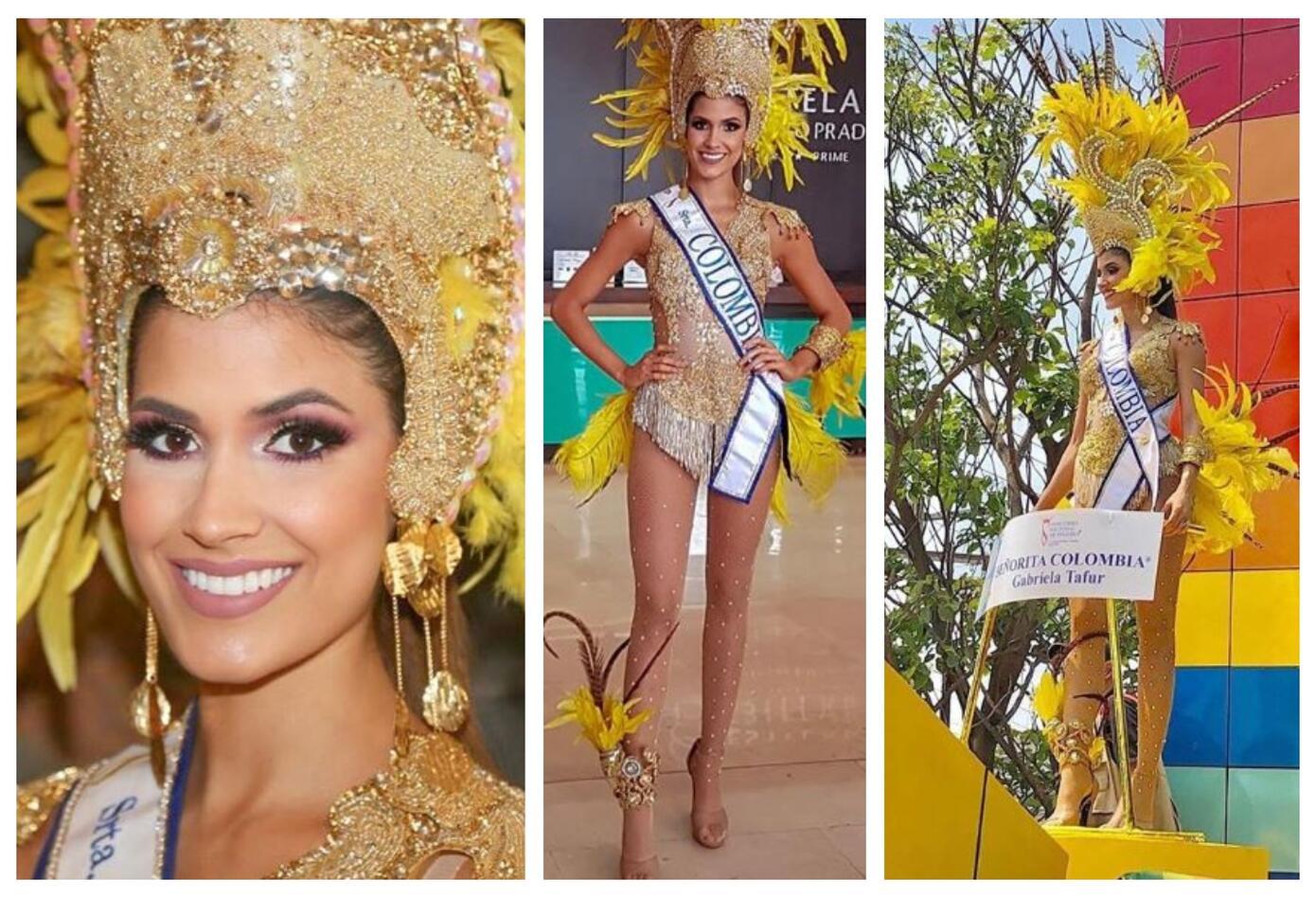 Gabriela Tafur en el Carnaval de Barranquilla 2019