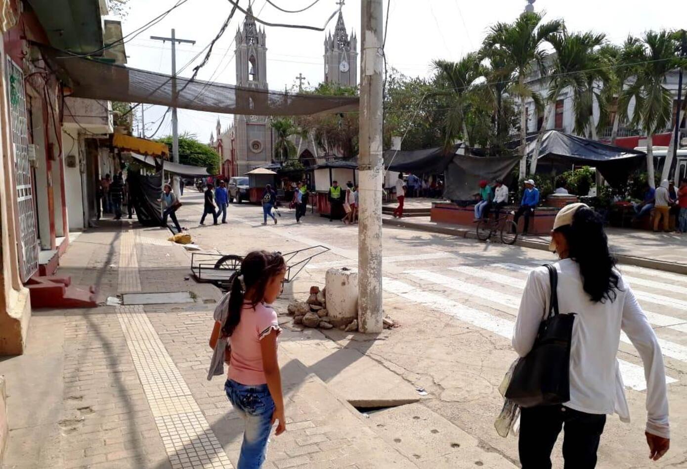 El presidente iván Duque visitó el municipio de Sucre, en La Mojana
