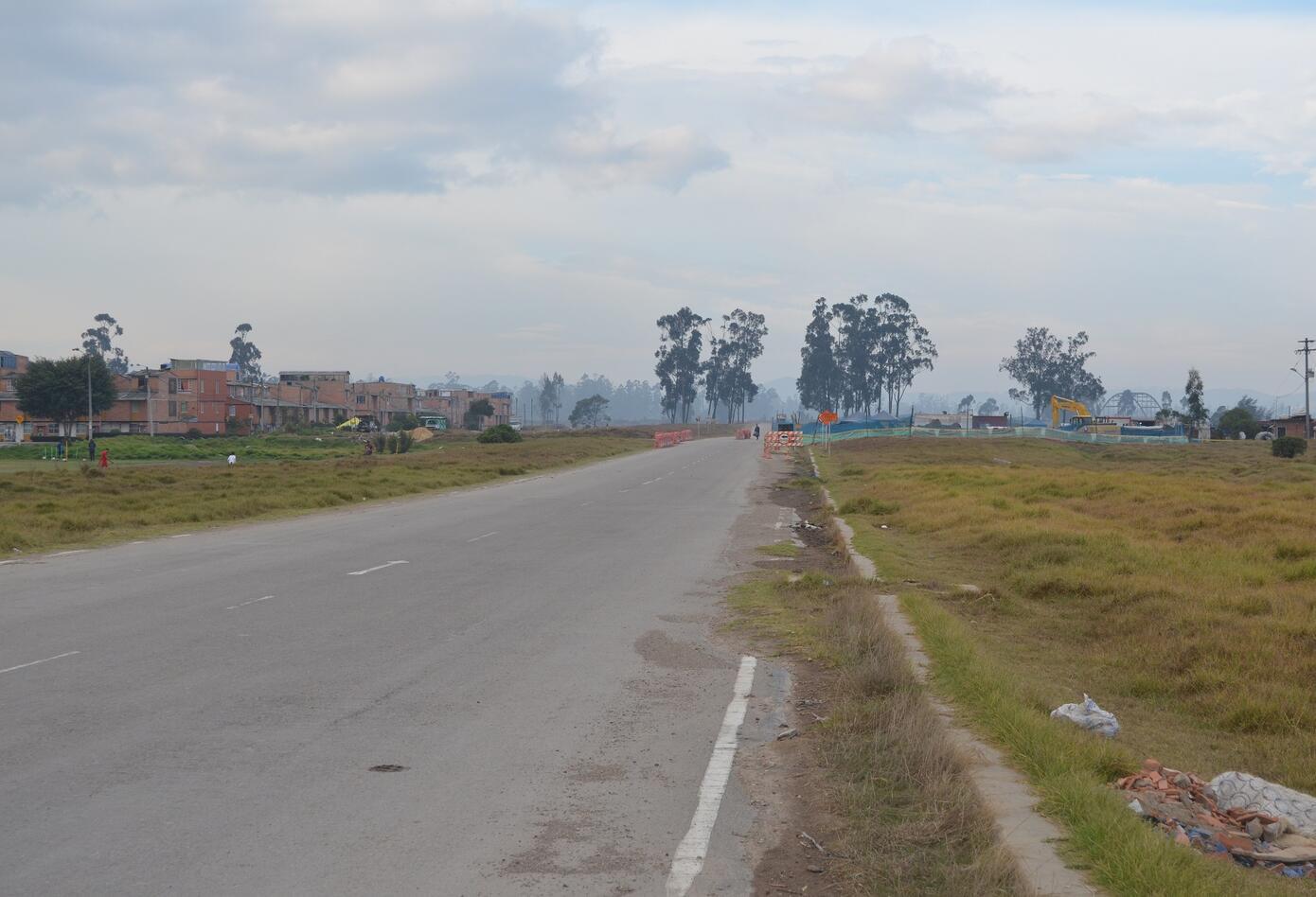 vía ALO en Bogotá