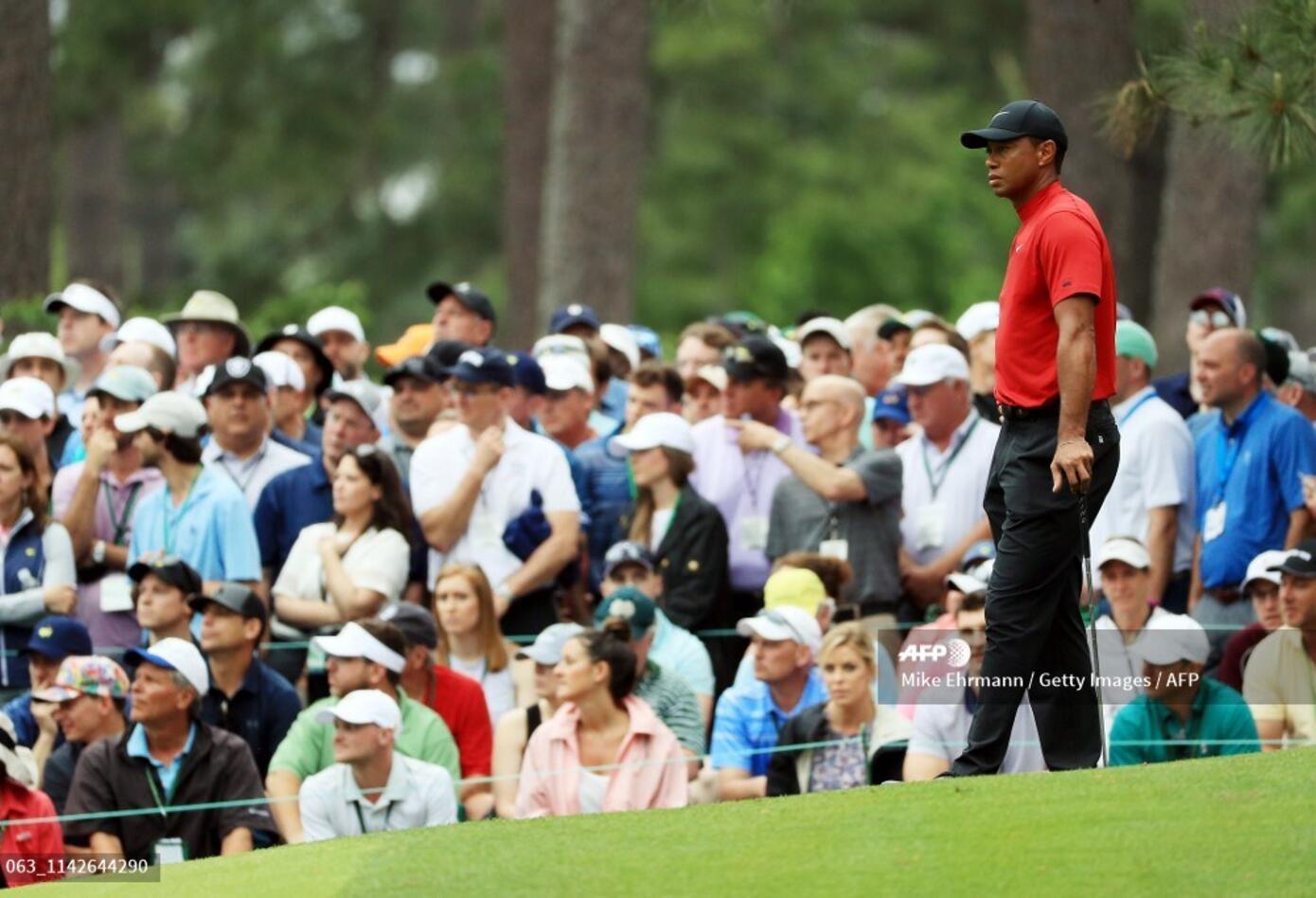 Tiger Woods volvió a ser la estrella de otrora en el Masters de Augusta